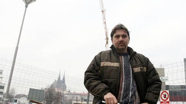Jeřábník Tomáš Šťastný.