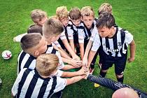Děti v Bosonohách se připravovali pod vedením trenérů z Juventus Academy.