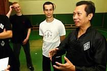 Velmistr kung-fu Lam Chun Sing.