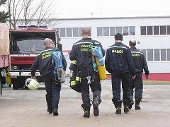 Dobrovolní hasiči z Lelekovic.