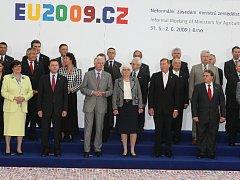 Setkání ministrů zemědělství a rybolovu zemí Evropské unie v Brně.