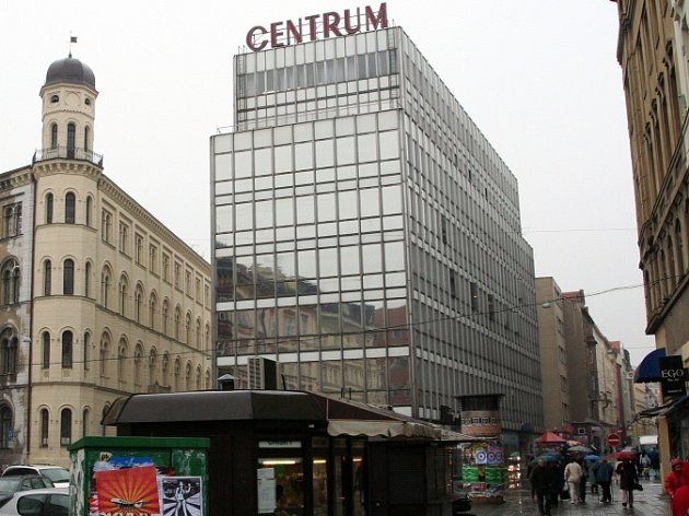 Současná podoba obchodního domu Centrum.