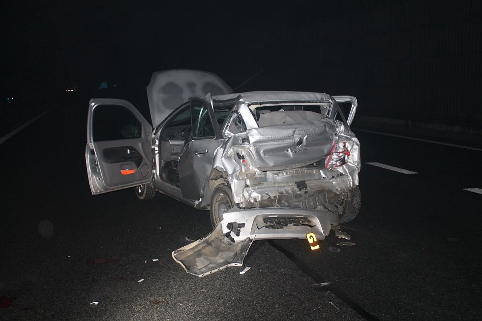 Smrtelná nehoda na dálnici D1.