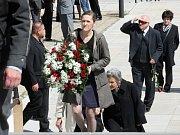 Divadelníci se v pondělí odpoledne v obřadní síni brněnského krematoria rozloučili s teoretikem, pedagogem a zakladatelem brněnského Divadla Husa na provázku Bořivojem Srbou.