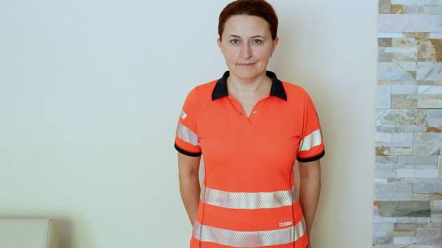 Záchranářka a krizová interventka Alexandra Korvasová.