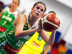 Basketbalistka KP Brno Veronika Remenárová.