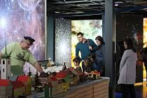 V planetáriu na Kraví hoře v Brně připravili pro návštěvníky na poslední sobotu v roce speciální akci Vánoce na hvězdárně.