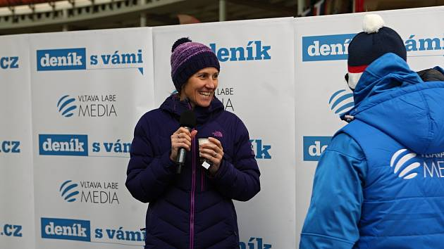 Miroslava Topinková na Olympijském festivalu v zóně Deníku.