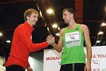 Atleti Andrej Silnov a Aleksej Dmitrik.