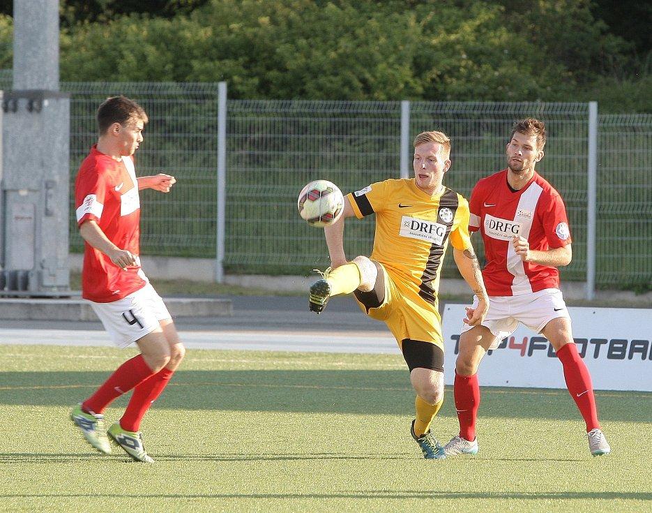 Jihomoravské derby Brna s Blanenskem v malém fotbalu.