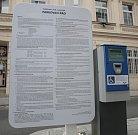 Nový parkovací dům v brněnské Kopečné ulici.