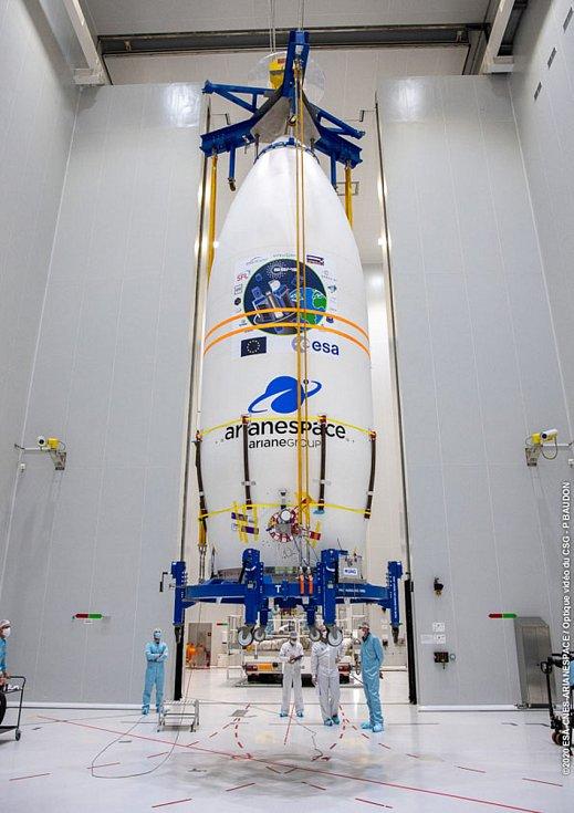 Na tomto se podílí brněnská firma SAB Aerospace.