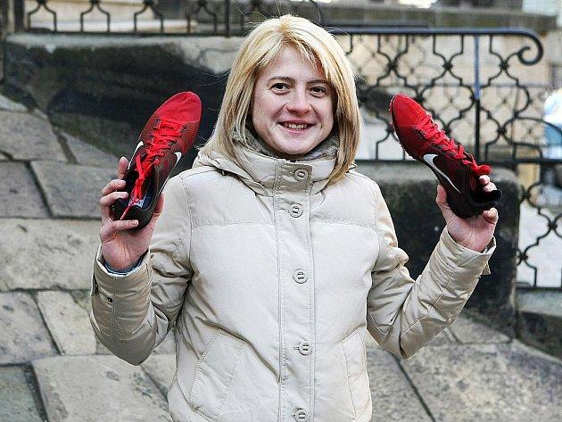 Atletka Lenka Masná.