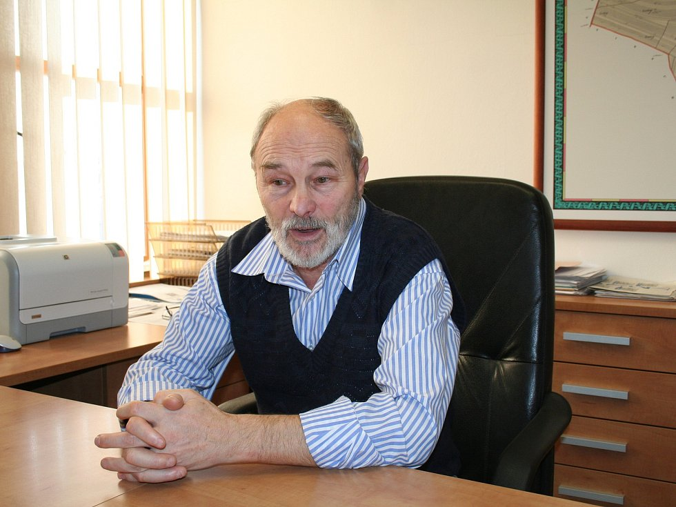 Starosta Otnic na Vyškovsku Pavel Prokop vede obec čtyřiadvacet let.