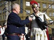 Zahájení svatomartinských oslav.