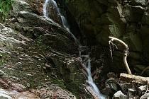 Trenckova rokle ukrývá krásu vodopádů.