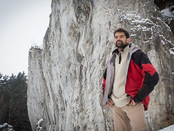 Jeskyňář a fotograf Marek Audy.