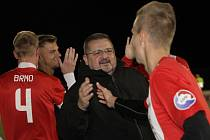 Brněnský trenér Zdeněk Táborský (vlevo).
