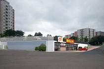Vizualizace plánovaného supermarketu Billa v brněnské Bystrci.