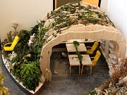 Výstava 130 studentských návrhů nábytku.