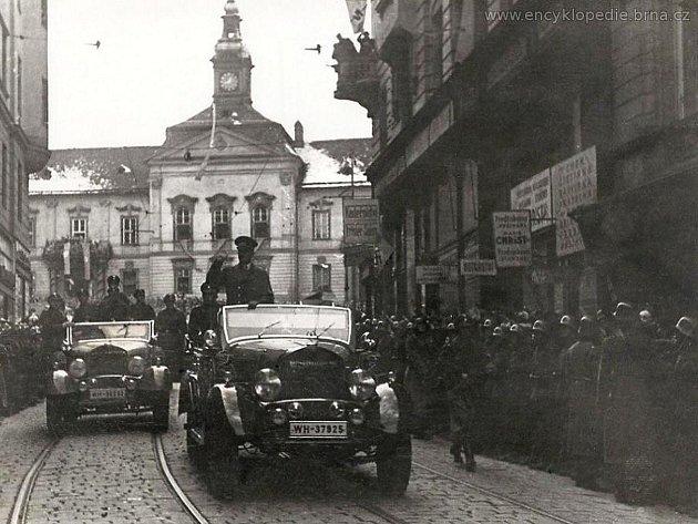 Před pětasedmdesáti lety se Oscar Judex prohlásil brněnským starostou. Nacisté převzali vládu nad městem na následujících šest let.