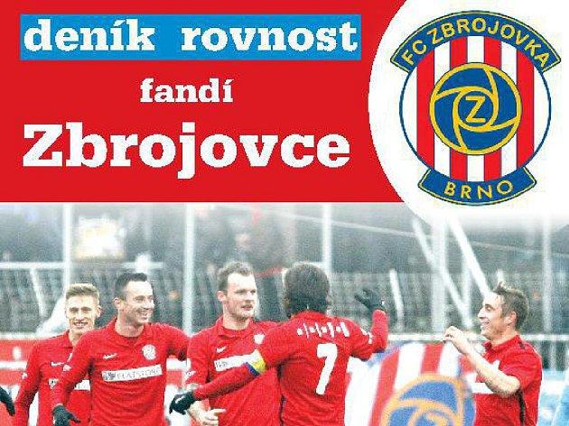 Deník Rovnost pro vás připravil speciální přílohu věnovanou fotbalové Zbrojovce Brno. Najdete ji pouze ve čtvrtečním vydání.