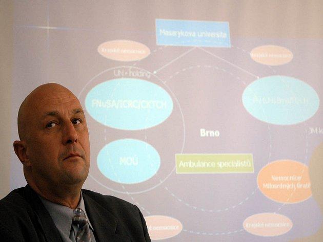 Ministr Julínek představil budoucnost brněnských nemocnic.