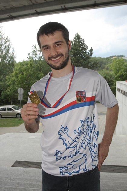 Florbalista Bulldogs Brno Petr Kadlec.
