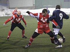 Čafka roznesla na zimním fotbalovém turnaji v Líšni divizní Blansko.