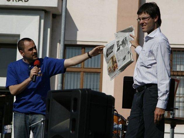 Zbyněk Vičar (vlevo) a Pavel Macků (vpravo)