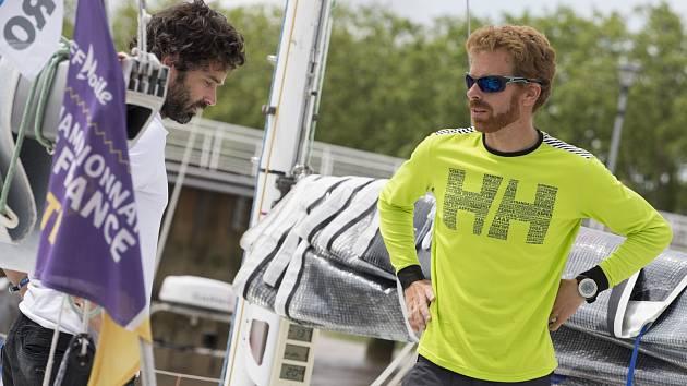Sólový jachtař Milan Koláček odstartoval do největšího závodu sezony.