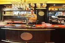 Brněnská restaurace Plzeňka se nachází v přízemí komplexu hotelu International.