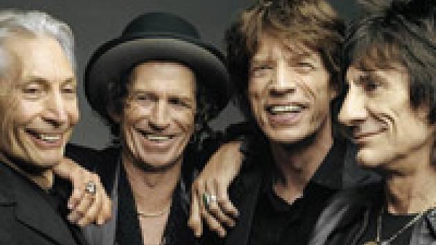 Členové skupiny Rolling Stones.