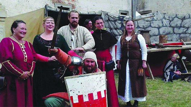 Skupina historického šermu IN TABERNA se představí na Bitvě tří králů