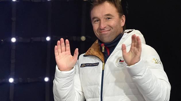 Milan Hnilička na zahájení Olympijského festivalu v Olympijském parku v areálu brněnského výstaviště.