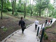 Představení Severních zahrad parku Špilberk v Brně.