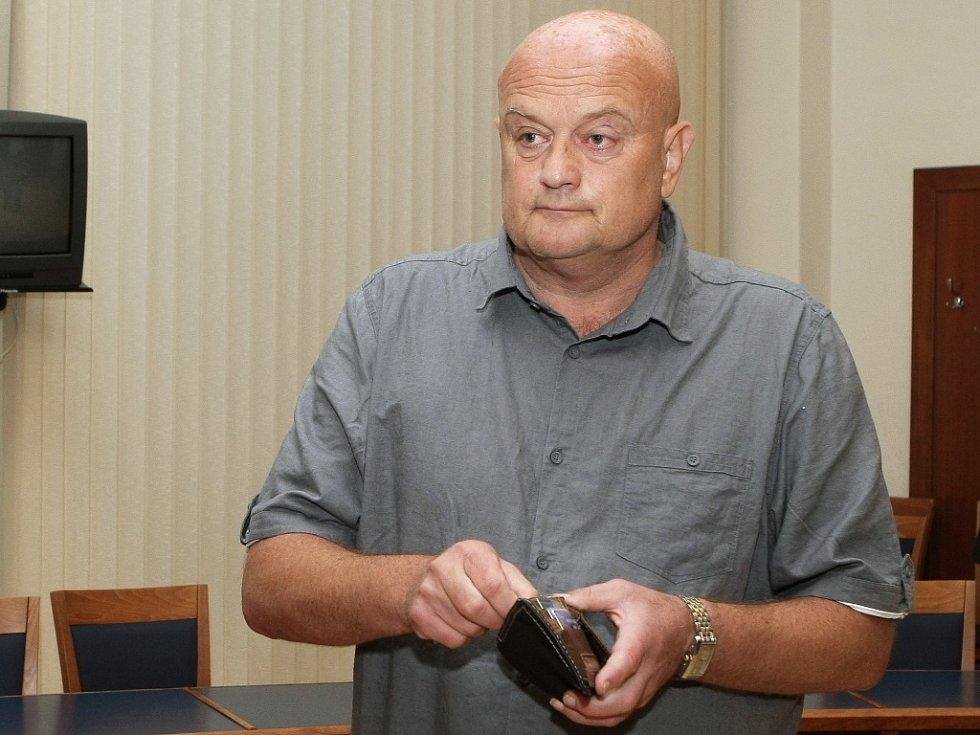 Jaroslav Šimek u brněnského soudu.