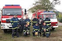 Soutěž hasičů ve Vranově.