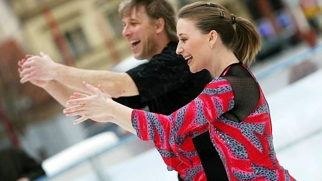 Radka Kovaříková a René Novotný.