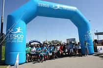 Letošního Běhu pro život v Brně se zúčastnily více než dva tisíce běžců.