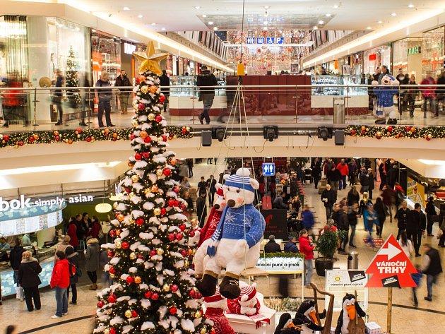 Nákupní horečka v sobotu vyvrcholí. Ti, kteří zatím nestihli nakoupit dárky, zamíří o posledním předvánočním víkendu do obchodních center. Jejich vedení proto posiluje ostrahu a očekává, že z hlediska tržeb půjde o nejsilnější víkend v roce.