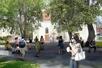 Vizualizace Palackého náměstí.