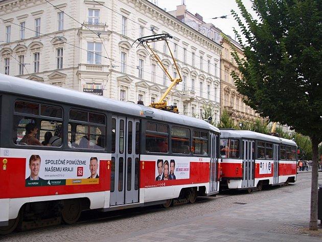 Volební kampaně v Brně.