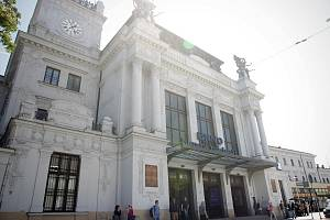 Budova hlavního vlakového nádraží v Brně. Ilustrační foto.