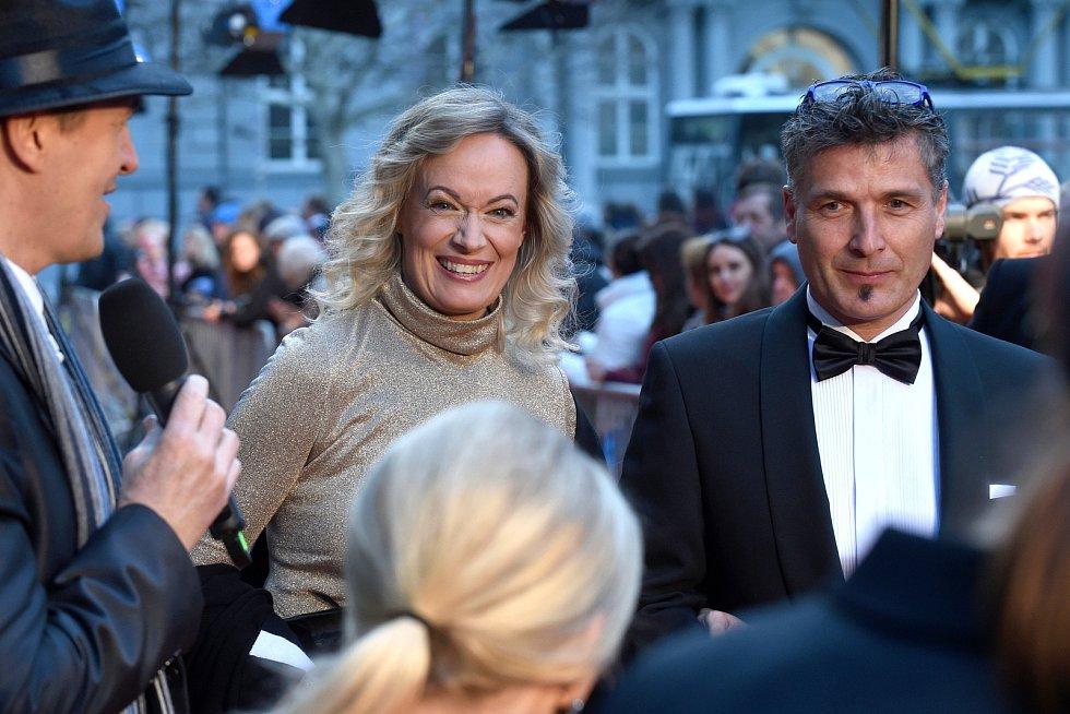 Brno 12.3.2019 - Slavnostní premiéra filmu Skleněný pokoj v brněnském univerzitním kině Scala - Alena Antalová.