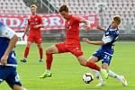 Brno 26.7.2019 - domácí FC Zbrojovka Brno v červeném proti FK Pardubice