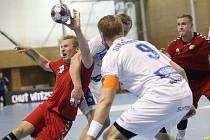 Čeští házenkáři v Brně udolali Island 27:24. V kvalifikaci o Euro.