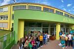 Kompletně zrekonstruovaná základní škola Horníkova v brněnské Líšni.