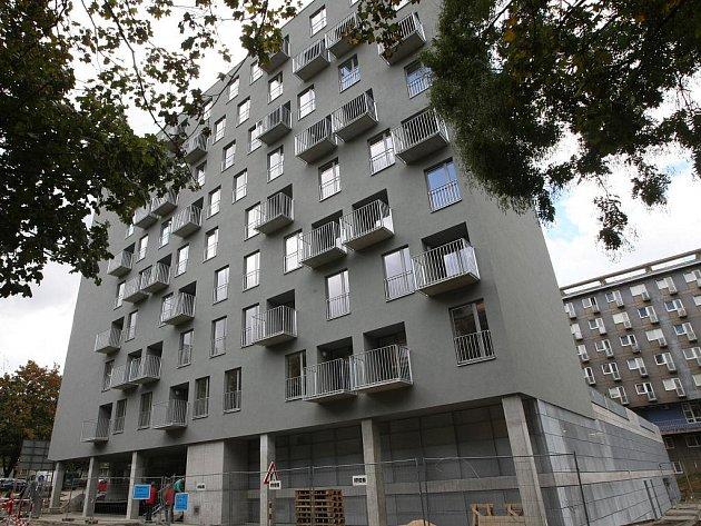 Rezidence Erasmus v brněnském Králově poli.