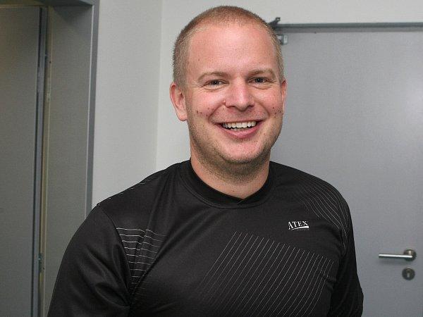 Kondiční trenéra Jan Cacek.